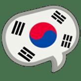 bocadillo de hablar coreano