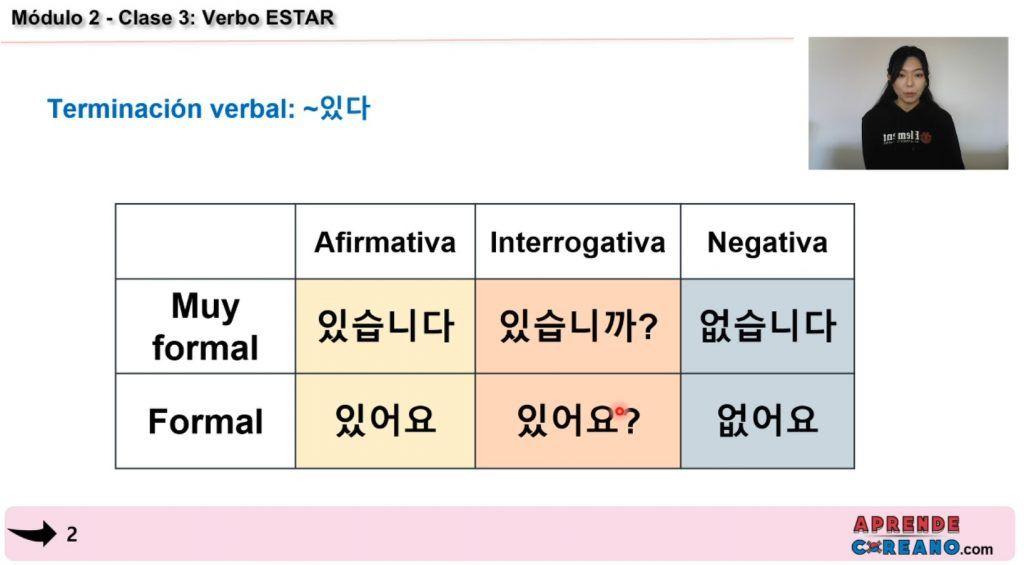 como aprender coreano con el curso